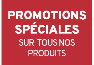 Promotions speciales